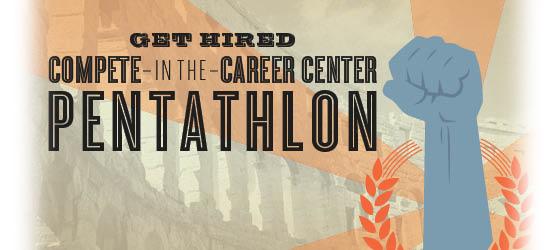 Career Center Pentathlon logo