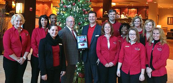 Hotel and Redbird Pride committee members