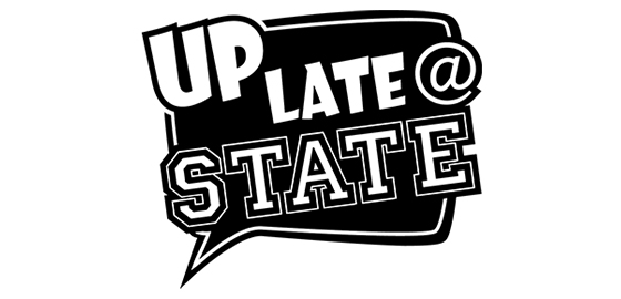 Up Late at State logo