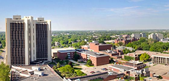 Campus panoramic view