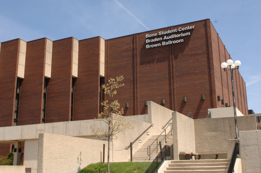 Bone Student Center exterior