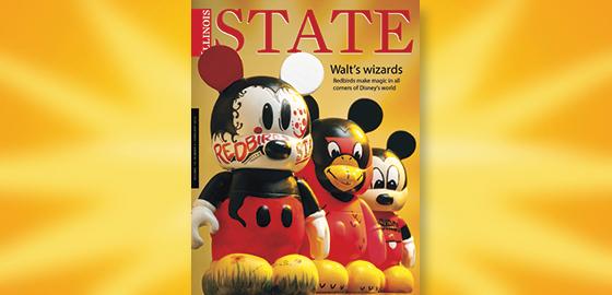 Illinois State magazine cover
