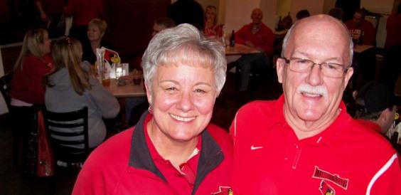 Lynn and Bill Gaddis