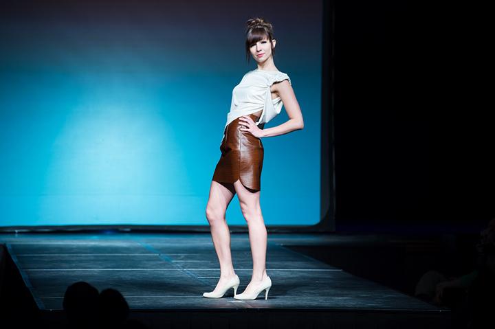 AMDA Fashion Show on the runway