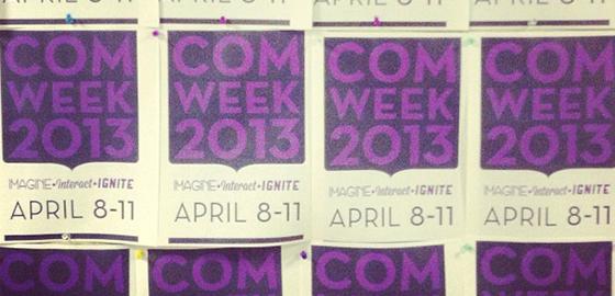 COM Week 2013 posters