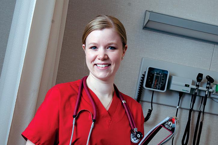 Illinois State University Scholarship recipient, Jennifer Ringsby
