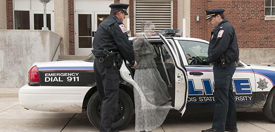Milner ghost arrested