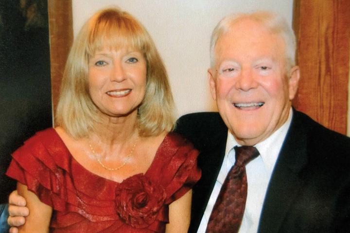 Jack Cowgill and Deborah (Kiekow) Johnson