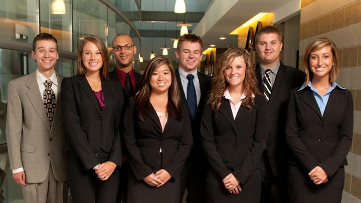 Professional Sales Scholars group shot