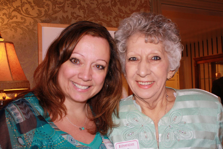 Cheryl and Della Mae