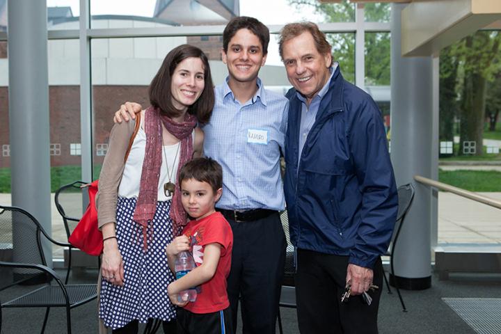 Ramiro Miranda and family