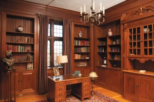 Ewing library shelves