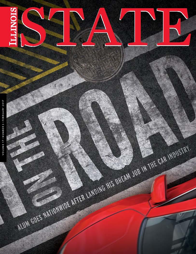 Illinois State Magazine, February 2017.