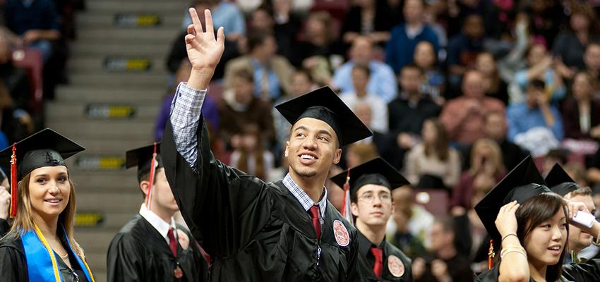 2012 graduate waves