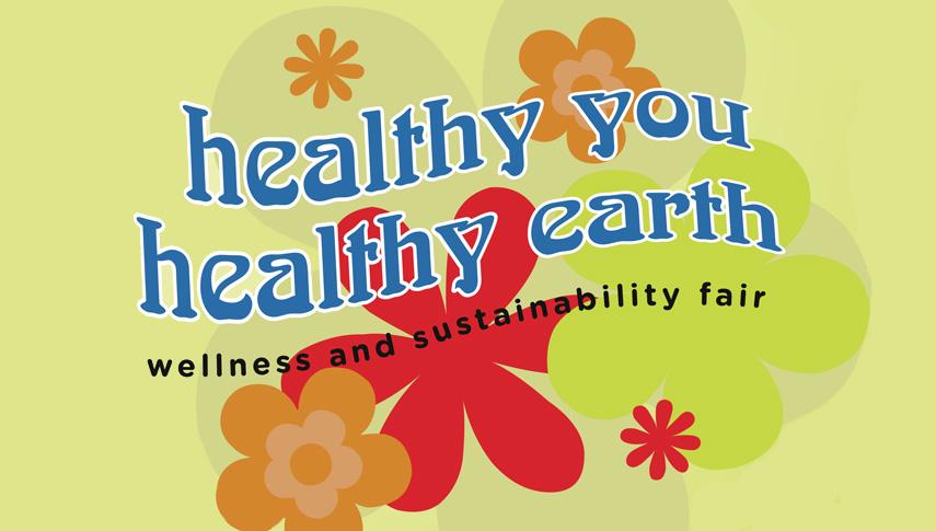 Healthy You Healthy Earth Wellness and Sustainability Fair logo