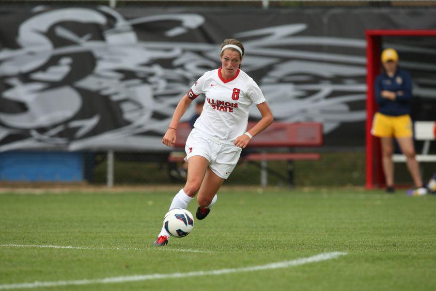 Illinois State soccer senior Anna Stinson