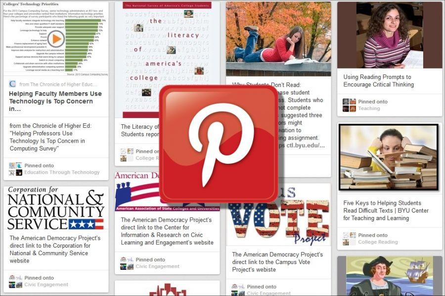 CTLT's Pinterest Page