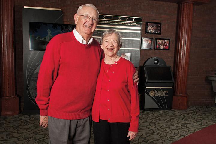 Gordon and Carol Schroeder