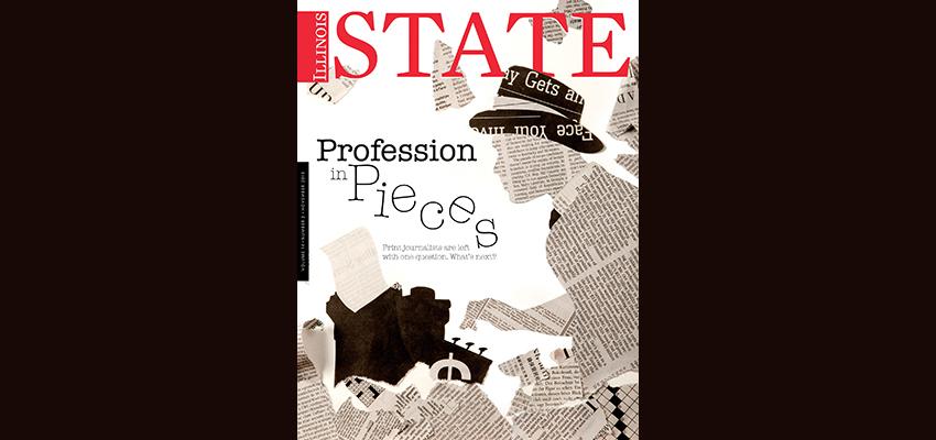 Illinois State magazine cover Nov13