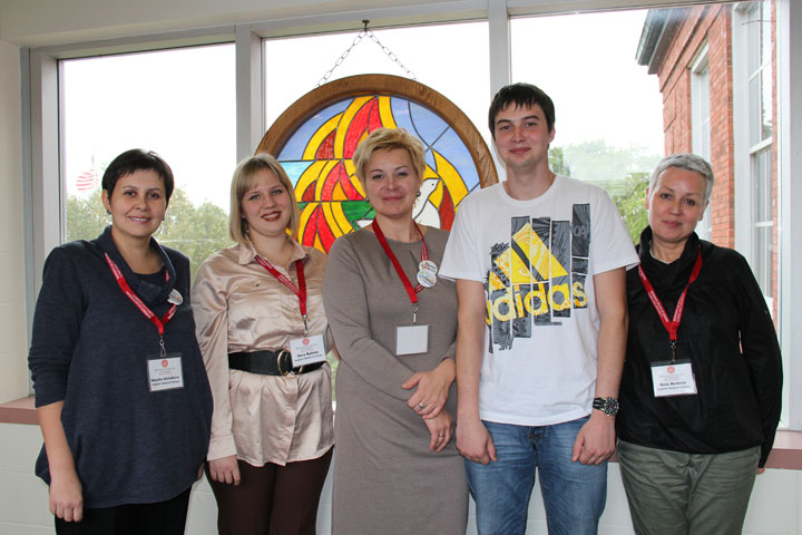 Russian Visitors from Vladimir Medical College