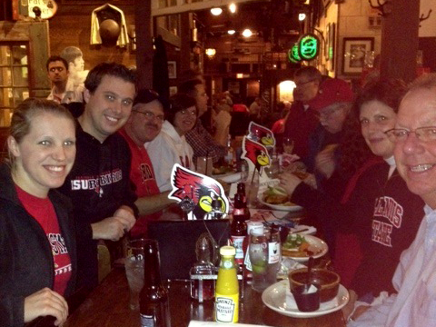 Redbird alumni are gathering in Peoria before the Redbirds take on Bradley on January 29