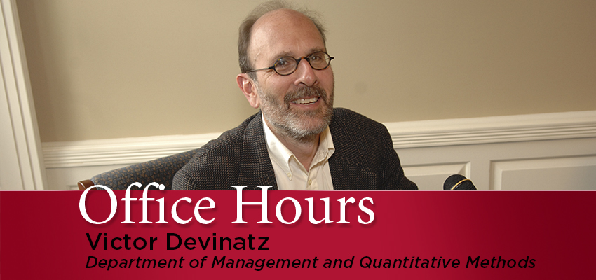 Victor Devinatz Office Hours graphic