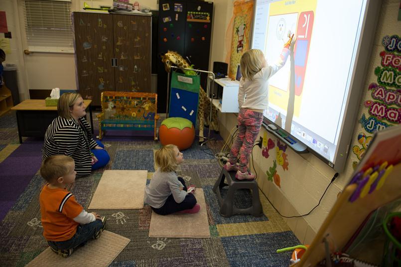 kids at MLS Oral Preschool