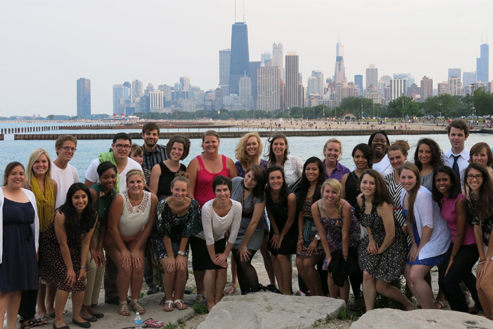 The 2013 STEP-UP class takes a on the shores of Lake Michigan in downtown Chicago