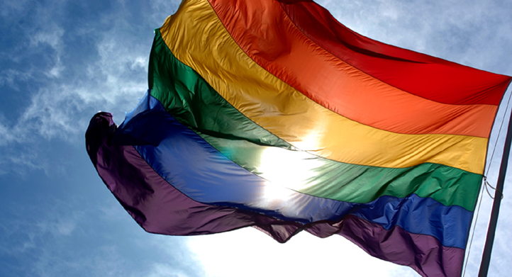 image of LGBTQ flag