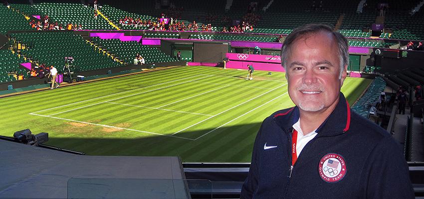 Craig Bohnert at Wimbledon Centre Court