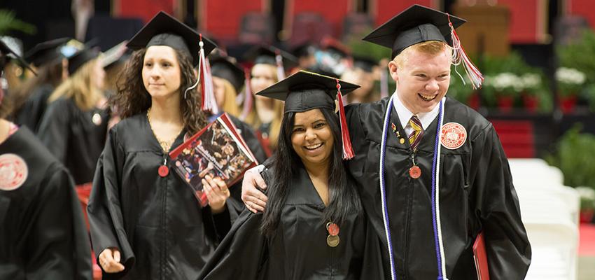 Illinois State graduates celebrate