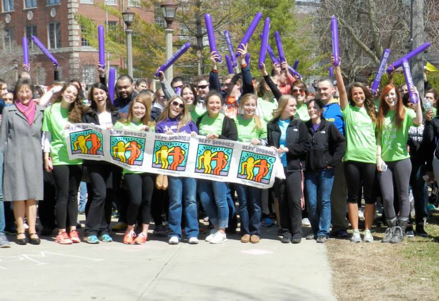 Participants of the 2014 Best Buddies Friendship Walk