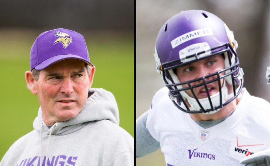 Vikings Mike Zimmers