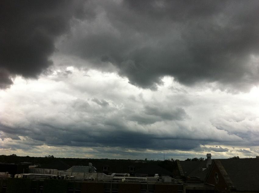 Dark clouds over Normal