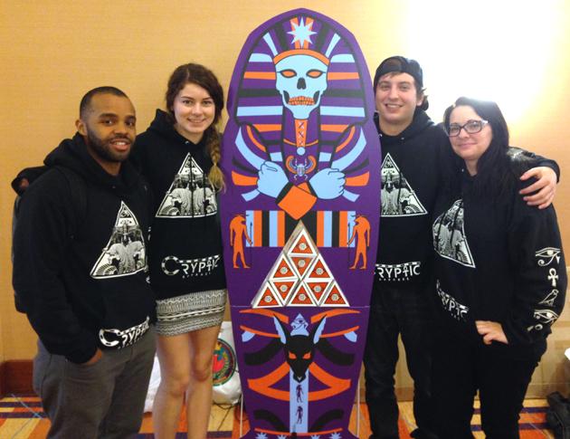 Students at the Phoenix Challenge