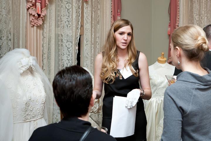 Aleea Bowman talks at an event