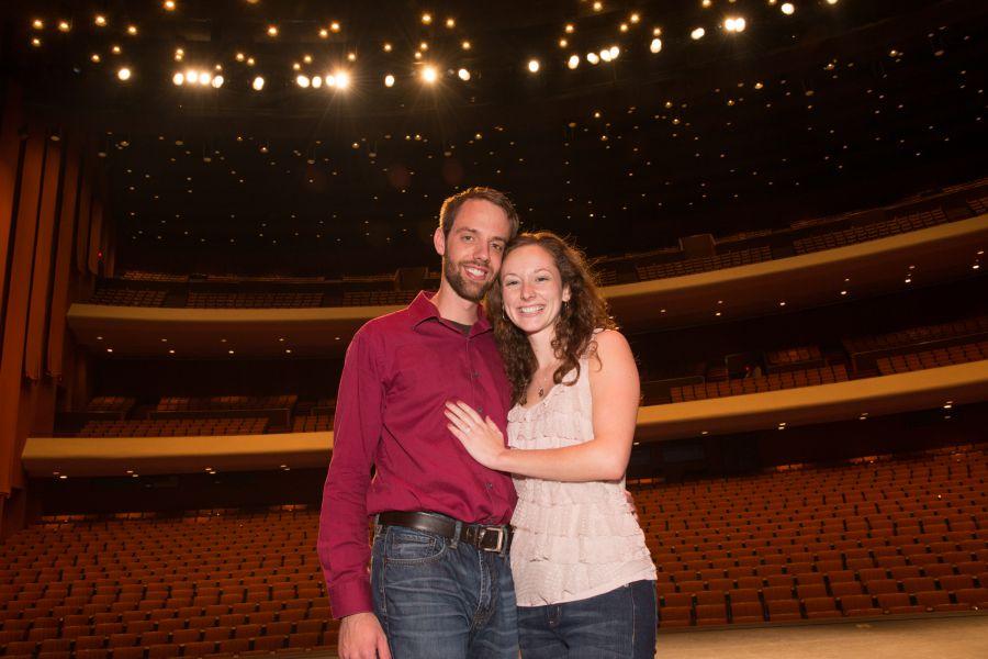 Ben Stone and Jessica Bockman