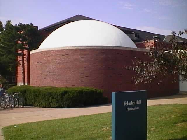 planetarium outside shot