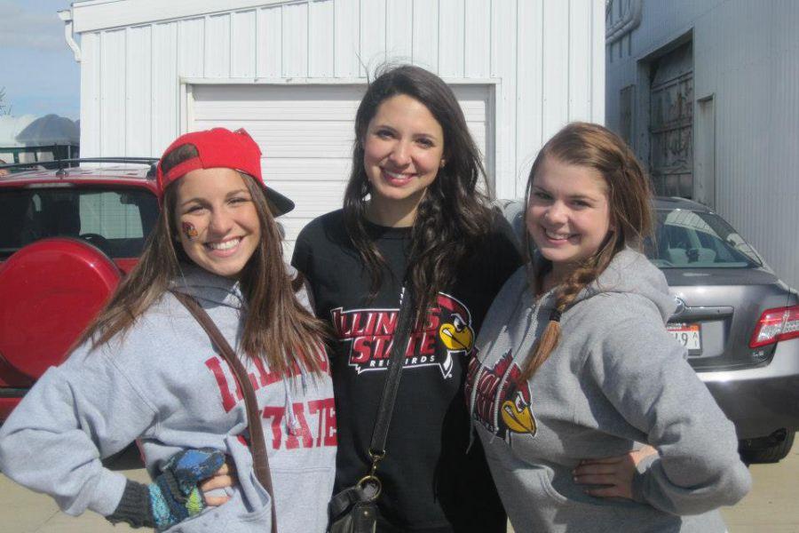 #BirdofMouth student blogger Lauren with friends