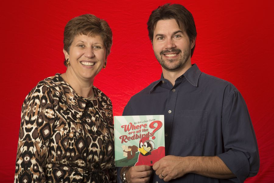Susan Blystone and Mike Mahle