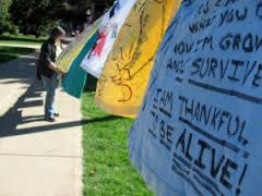 image of the Clothesline Project