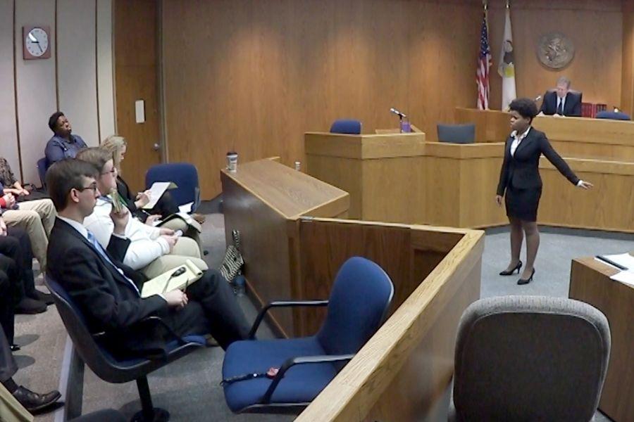 Khandi Wright presenting case