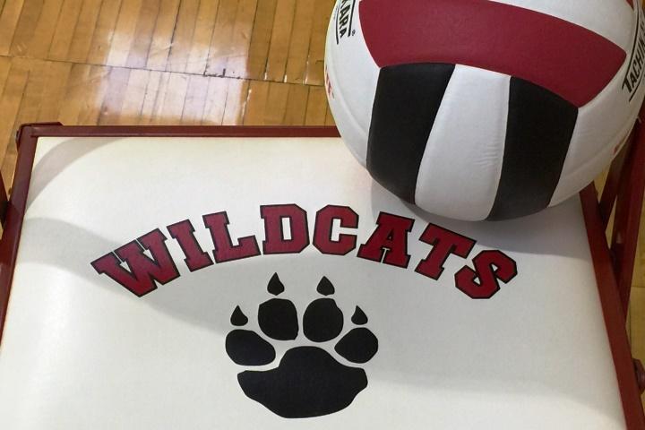 Metcalf School volleyball