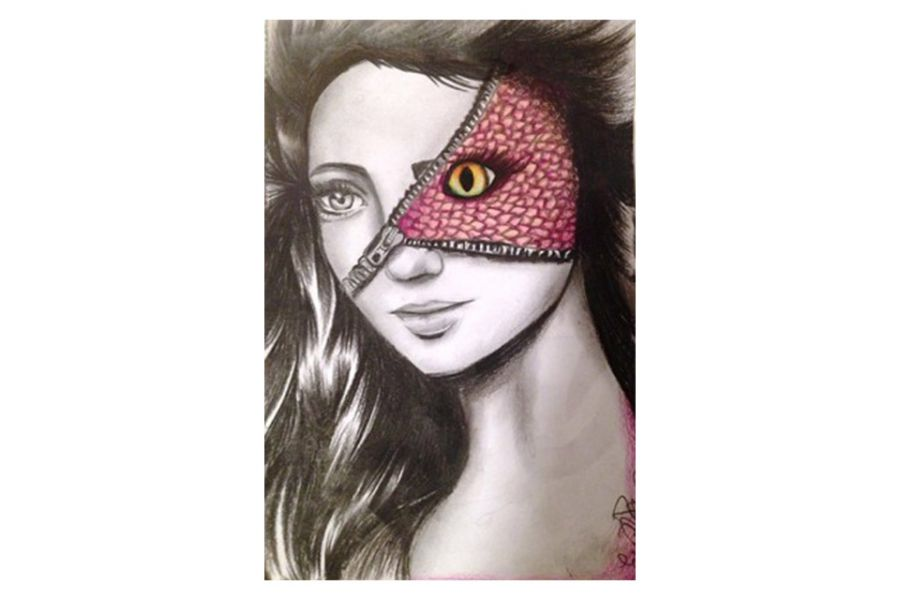 Ella Zona's artwork Unzipped