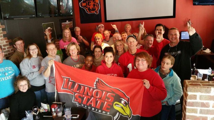 Redbird fans at a watch party in Atlanta