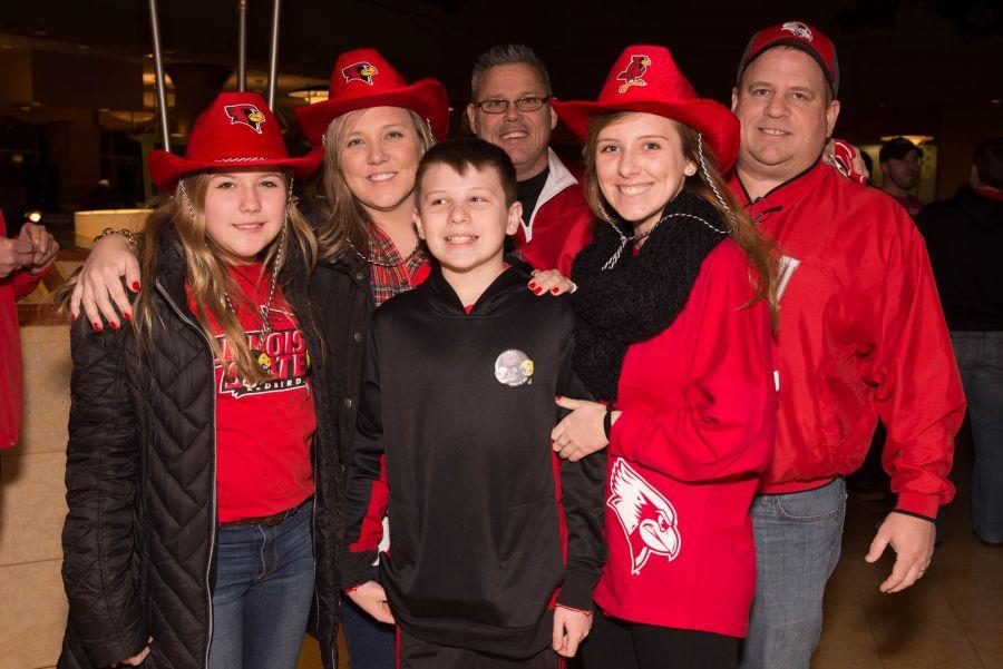 fans at the Redbird Reception