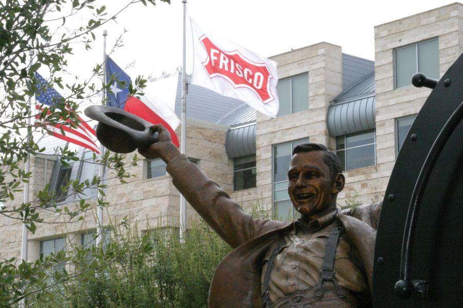 Flag in Frisco Texas