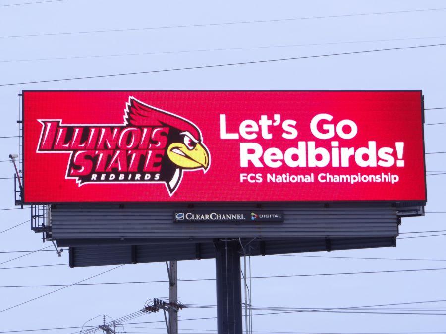 Redbirds digital signs