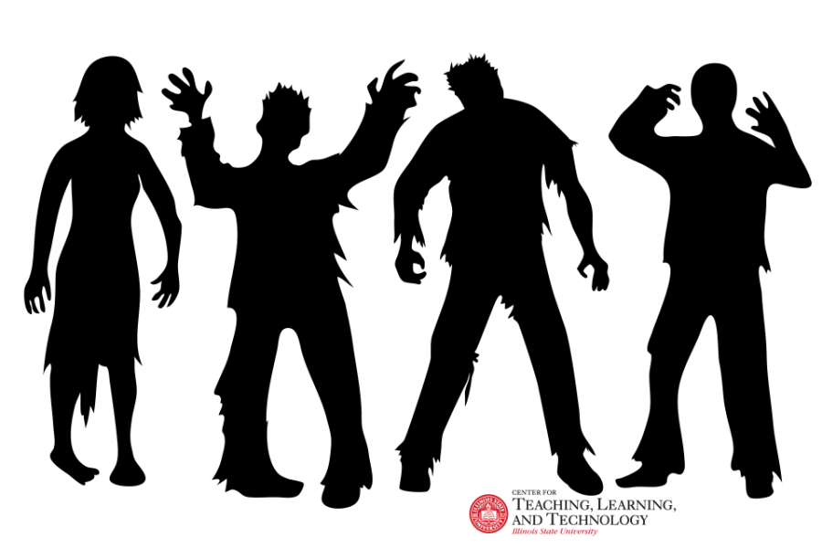 zombies sillouette