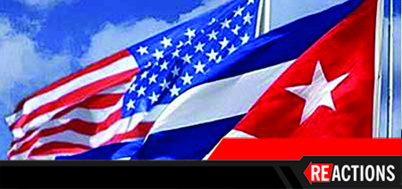 image of U.S. and Cuban flags